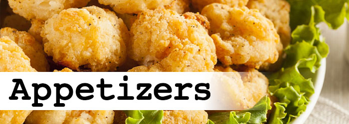 Order appetizers online